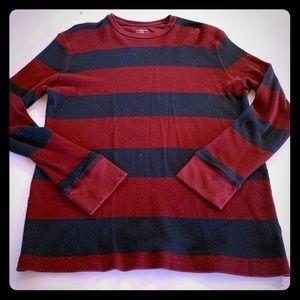 Merona long sleeve waffled T-shirt XL